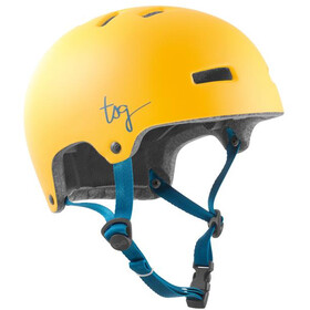 TSG Ivy Solid Color Helmet Women satin boost yellow
